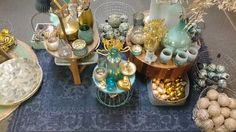 Een onderdeel van de etalage van de Via Cannella kerstwinkel. www.viacannella.nl