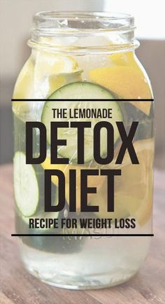 The Lemonade Detox Diet – A Simple Recipe For Weight Loss - Lose Weight