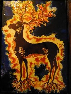 Csoda szarvas - A central figure in the legends surrounding the origin of the… Wiccan, Magick, Legends And Myths, Animal Totems, Gods And Goddesses, Archaeology, Folk Art, Fantasy Art, Artsy