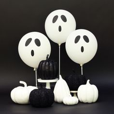 halloween ghost balloons - Halloween Birthday Party Ideas