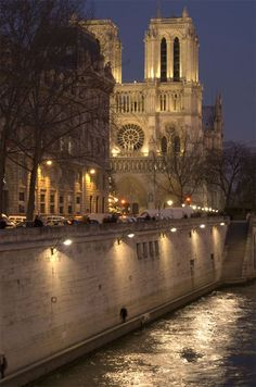 Notre Dame Cathedral. Lighting design by Light Cibles