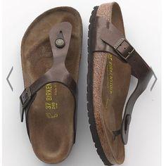 """NIB Birkenstock """"Gizeh"""" in toffee Brand new in box. Gizeh sandals in the color toffee Birkenstock Shoes"""