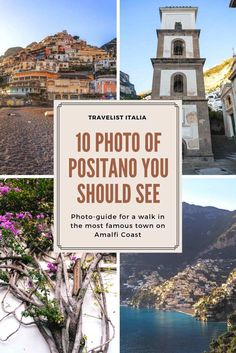 Discover new amazing places in Italy: browse our photo gallery of the beautiful Positano, on Amalfi Coast. Travel in Europe.