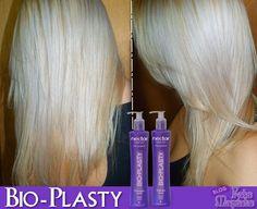 A Linha Néctar Bio-Plasty é um tratamento reconstrutor intensivo para os cabelos   fragilizados pós-química.