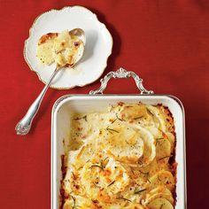Hearty Thanksgiving Casseroles: Fennel-and-Potato Gratin