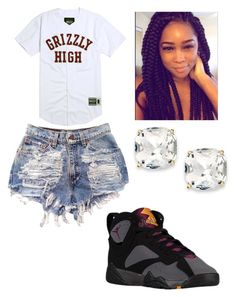 """""""Just taking a trip to the park 😋"""" by brejeasmith ❤ liked on Polyvore featuring Kate Spade"""