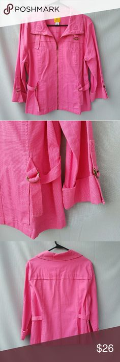 Ruby Rd Hot Pink Jacket Excellent condition Feel free to ask me any additional questions. Bundles 3+ are 15% off. Happy Poshing! Nordstrom Jackets & Coats