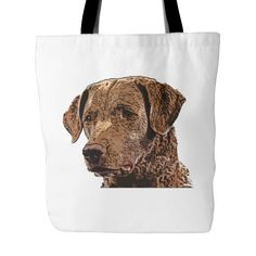 32961c2a4c Carry your passion with amazing Chesapeake Bay Retriever Dog Tote Bags from  TeeAmazing. Click the
