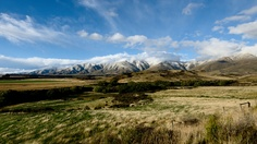 Let's travel to New Zealand with Marcus Holland-Moritz - Kakanui Range seen from Kye Burn.