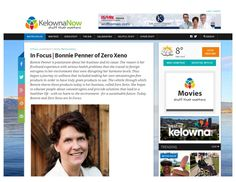 Kelowna In Focus article on Bonnie Penner the founder of Zero Xeno.