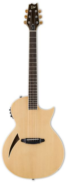 ESP LTD ARC-6 Acoustic-Electric Guitar Natural