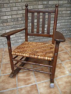 Silver River Center for Chair Caning Chair Repair, Weaving Projects, Vintage Chairs, Rocking Chair, Restoration, Dining Chairs, River, Furniture, Home Decor