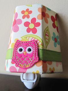 Sweet Nothings Girl's Owl - Night Light. $20.00, via Etsy.