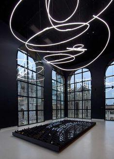 Yves Klein - Lucio Fontana . Museo del Novecento . Milano