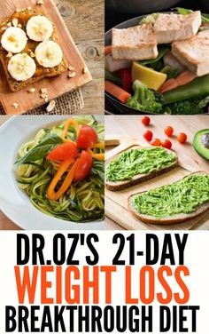 Dr.Oz's 21-Day Weight Loss Breakthrough Diet