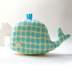 Olindo the Whale. Made it and not as cute, but Doz loved it so I guess it doesn't matter.