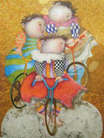 """Limited Edition Print """"Autour Du Monde"""" by Graciela Rodo Boulanger"""