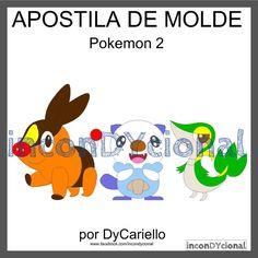 >> Apostila digital de moldes Pokemon 2 [ conforme imagem], para ser feito em feltro/tecido.  >> Vem com os personagens que estão na imagem! Nesta mesma posição! R$ 20,00 https://www.facebook.com/inconDYcional/photos/a.811942578856722.1073741827.187805041270482/1199283103455999/?type=3&theater