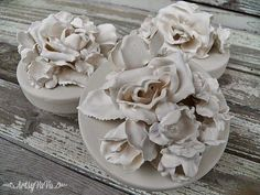 Have you made Plaster Of Paris flowers yet? Well, if not, be prepared (when you do make them) to want to put them on everything! When y...