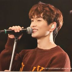 He is so handsome, I didn't even notice it was Jinki.  just kidding.
