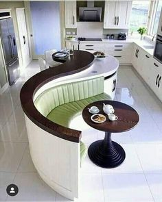 Kitchen Island Designs With Seating, Kitchen Island With Granite Top, Design Kitchen, Kitchen Wall Units, False Ceiling Bedroom, Booth Seating, Seating Plans, Bedroom Seating, Stylish Kitchen