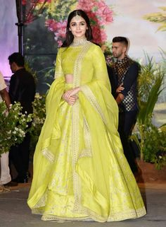Indian fashion has changed with each passing era. The Indian fashion industry is rising by leaps and bounds, and every month one witnesses some new trend o Indian Wedding Outfits, Indian Outfits, Ethnic Dress, Lehenga Designs, Vogue, Indian Wear, Indian Attire, Indian Style, Indian Designer Wear