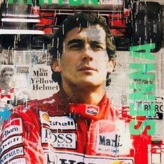 Cobra Art, F1, Posters, Wallpapers, Ayrton Senna, Poster, Wallpaper, Billboard, Backgrounds