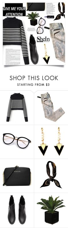 """""""The Witch's Moon"""" by violet-peach ❤ liked on Polyvore featuring Work Custom, MICHAEL Michael Kors, Hermès, Urban Decay and ASOS"""