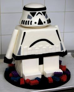 Grooms cake Star Wars by Whippt desserts Star Wars Cake, Craft Wedding, Grooms, Macarons, Special Events, Catering, Sculpting, Wedding Cakes, Birthdays