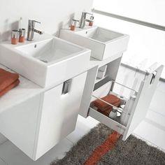 Dzięki meblom łazienkowym KOŁO TWINS pomieścisz i sprawnie zorganizujesz wszystkie rzeczy potrzebne w Twojej łazience. #KOŁO #łazienka #inspiracje #inspiracja #łazienki #wystrójwnętrz #wystrój #meble #interior #white #bathroom #minimal #interiordesign #inspiration #furniture