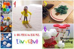 Lavoretti ed attività invernali per bambini - Winter activities for Kids