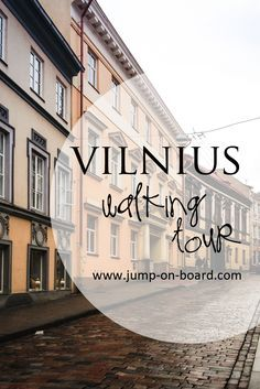 Vilnius self-guided walking tour