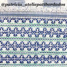 Swedish Weaving Patterns, Swedish Embroidery, Bargello, Ribbon Embroidery, Cross Stitch Patterns, Needlework, Retro, Knitting, Crochet