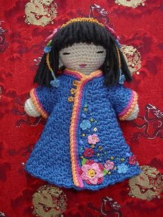 Peony_amigurumi by toureasy47201, via Flickr