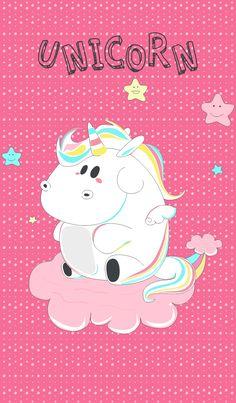 Hallo theme simple unicorn kids with rainbow cute and cloud - by rch Art Digital Studio Little Mermaid Wallpaper, Mermaid Wallpapers, Cute Wallpapers, The Little Mermaid, Fat Unicorn, Unicorn Kids, Unicorn Art, Unicornios Wallpaper, Cellphone Wallpaper
