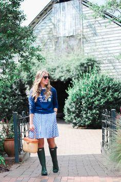 Dress as skirt. Add a sweater.