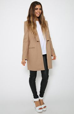 Jazzy Jacket - Camel | Back In Stock | Clothes | Peppermayo