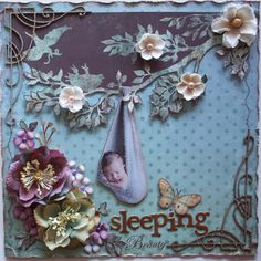 Gabriellep's Gallery: Sleeping Beauty **My Creative Scrapbook & Dusty Attic**