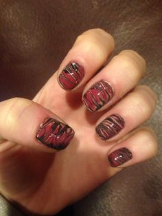 Dry marbling #nails #diy