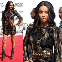 Ciara - Balmain dress