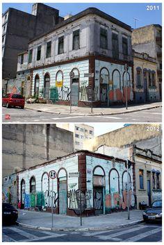 Amazing house from 1896 demolished in Mooca (Sao Paulo / Brazil)  Click the link below to see photos before the demolition:  http://www.saopauloantiga.com.br/sobrado-de-1896-rua-wandenkolk-485/