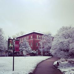 Check out this #tbt from winter last year at #SIU!
