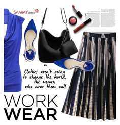 """Work Wear"" by ansev ❤ liked on Polyvore featuring Paul Andrew and sammydress"