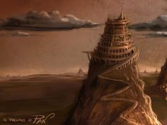 - Tower of Babel II Creative drawing improvisation time: 30 min software: Photoshop CS5 tool: Wacom Intuos5 video tutorial: http://youtu.be/wl3je5oZmdo