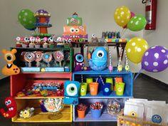 Festa Monstrinho Monsters party