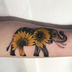 Sunflower Tattoo 62