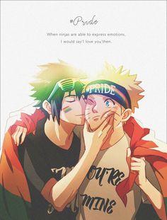 Sasuke carinhoso???