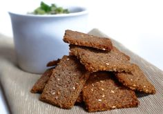 Gluten free nut and seed crackers | Vegie Project