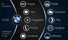 Great launcher design for car pc.
