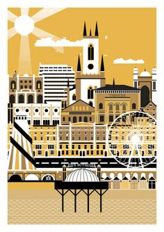 City Art Prints by Horse Studio